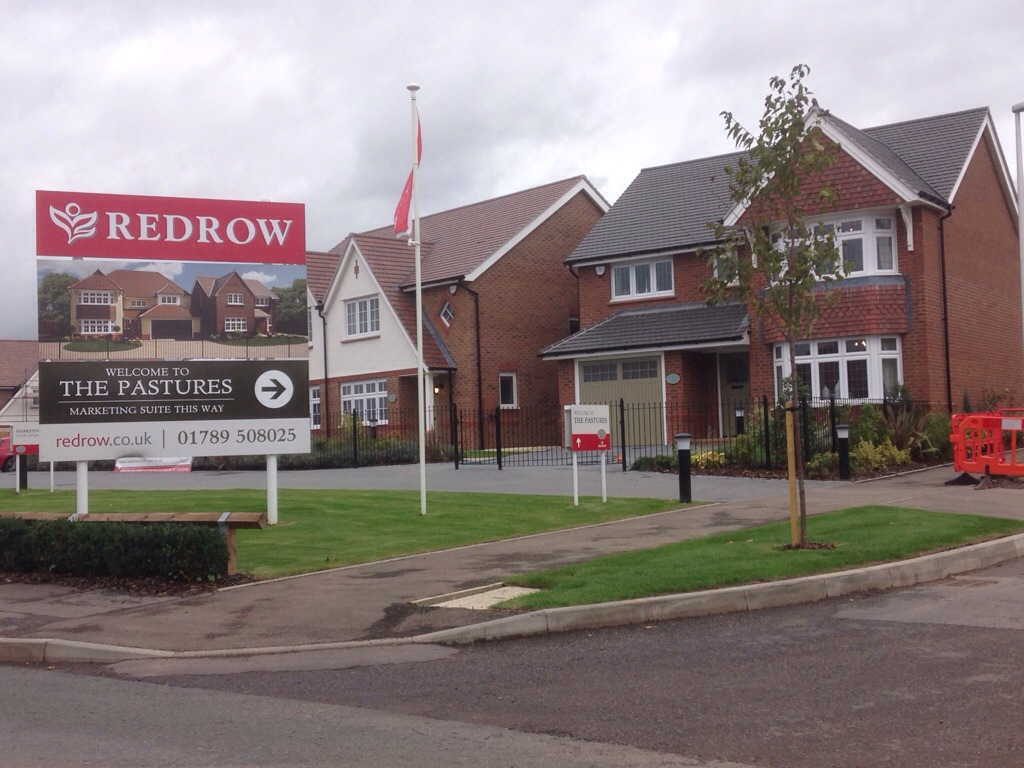 new redrow homes site in alcester midland alarm services